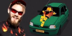 Thumb Drift Oynadık! (PewDiePie'ın yenş arabasıyla!)