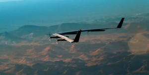 Facebook'un İnsansız Uçağı Aquila'nın Test Uçuşu