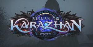 World of Warcraft'ın 7.1 Yamasında Karazhan'a Dönüyoruz!