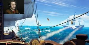 Sea of Thieves'de Deniz Savaşları Böyle Görünüyor