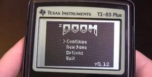 Hesap Makinesinde DOOM Oynadılar!
