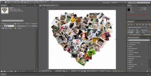 Shape Collage ile Yapılan Kolajları After Effects'te Animasyona Dönüştürme