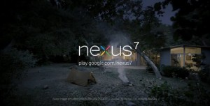 Nexus 7 Reklam Filmi