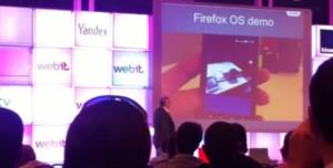Firefox OS Demosunu Görüntüledik