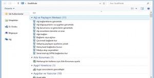 Windows 8 GodMode Özelliği Nasıl Aktif Edilir?