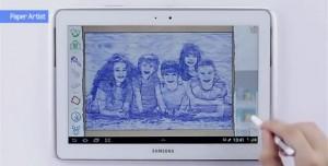 GALAXY Note'larda Bulunan Paper Artist ile Yaratıcılığınızı Ortaya Çıkarın