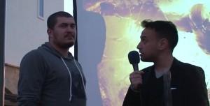 God of War Ascension İzmir Lansmanı - Sahne Röportajları 3 - Tamindir Editörü Can Çevrim