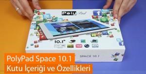 PolyPad Space 10.1 Kutu İçeriği ve Özellikleri