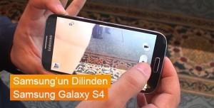 Samsung'un Dilinden Galaxy S4 Tanıtımı