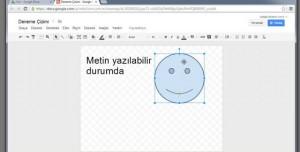 Google Drive ile Çizim Yapma