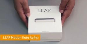 LEAP Motion Kutu Açılış Videosu