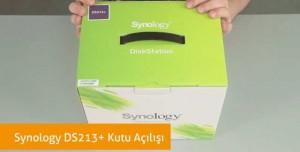 Synology DS213+ Kutu Açılışı