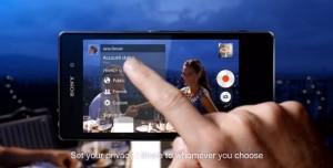 Xperia Z1 - Social Live Özelliği