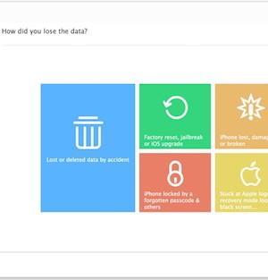 iMyFone D-Back iPhone Data Recovery Ekran Görüntüleri - 1