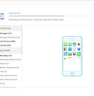 iMyFone D-Back iPhone Data Recovery Ekran Görüntüleri - 2