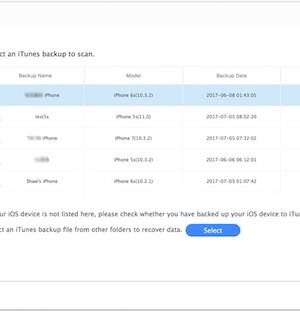 iMyFone D-Back iPhone Data Recovery Ekran Görüntüleri - 3