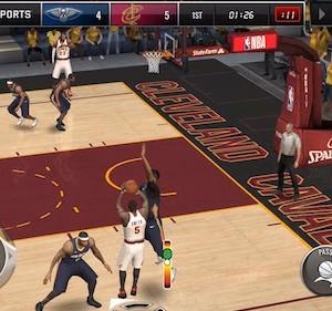 NBA LIVE Mobile Basketball Ekran Görüntüleri - 2