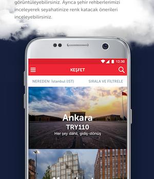 Turkish Airlines Ekran Görüntüleri - 1