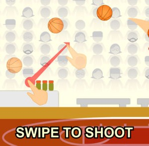 Swipe Shootout: Street Basketball 1 - 1