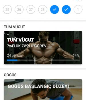 Ev Egzersizleri Ekran Görüntüleri - 2