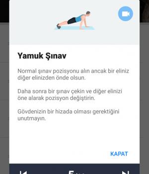 Ev Egzersizleri Ekran Görüntüleri - 4