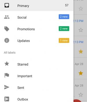 Gmail Go Ekran Görüntüleri - 2