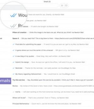 Newton Mail Ekran Görüntüleri - 2