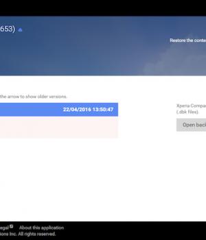 Sony Xperia Companion Ekran Görüntüleri - 1