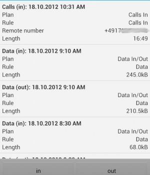 Call Meter 3G Ekran Görüntüleri - 5