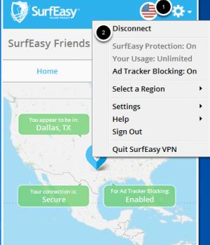 SurfEasy VPN Ekran Görüntüleri - 5