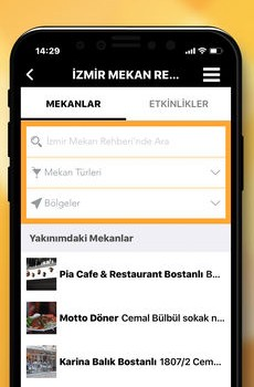 İzmir Mekan Rehberi Ekran Görüntüleri - 4