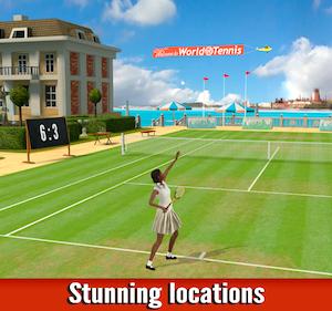 World of Tennis: Roaring '20s Ekran Görüntüleri - 4