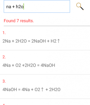 Chemistry Helper Ekran Görüntüleri - 1