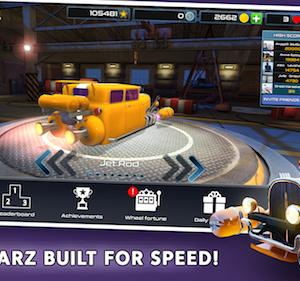 Rocket Carz Racing Ekran Görüntüleri - 1