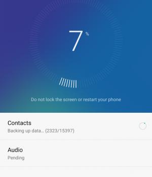 Huawei Backup Ekran Görüntüleri - 4