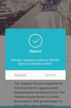 Türk Telekom Bi' Dünya Fırsat Ekran Görüntüleri - 2