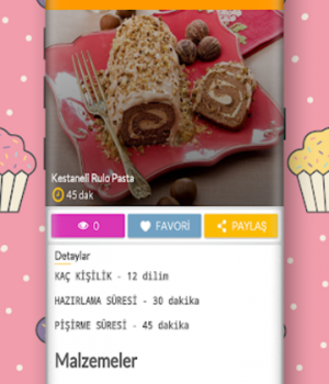 Pasta Tarifleri Ekran Görüntüleri - 2