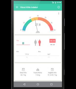 ideal kilo hesaplama uygulaması - 3