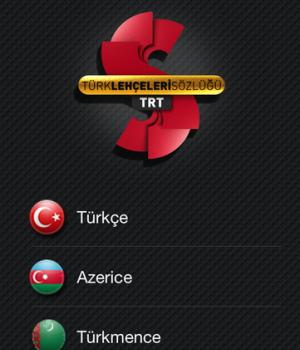 TRT Türk Lehçeleri Sözlüğü Ekran Görüntüleri - 2