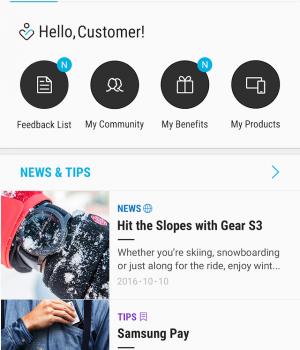 Samsung Members Ekran Görüntüleri - 1