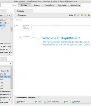 RapidMiner Veri Madenciliği Programı - 2