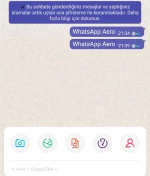 WhatsApp Aero Ekran Görüntüleri - 2