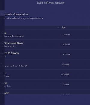 IObit Software Updater Ekran Görüntüleri - 5