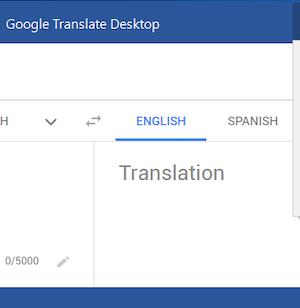 Google Translate Desktop Ekran Görüntüleri - 3