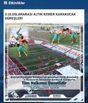 Erzurum Büyükşehir Belediyesi Ekran Görüntüleri - 5