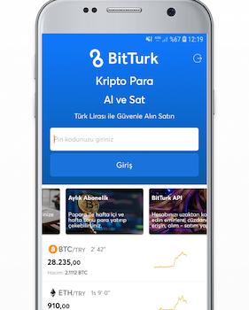 BitTurk Ekran Görüntüleri - 1