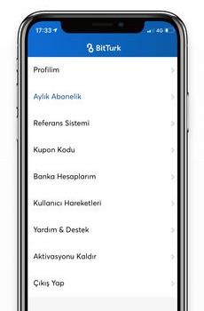 BitTurk Ekran Görüntüleri - 5