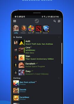 Steam Chat Ekran Görüntüleri - 1
