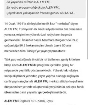 Alem FM Ekran Görüntüleri - 10