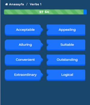 YDS Kelime Pro Ekran Görüntüleri - 2